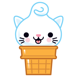 Kitty Cones messages sticker-1