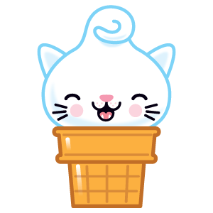 Kitty Cones messages sticker-2