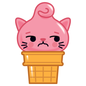 Kitty Cones messages sticker-6