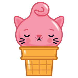 Kitty Cones messages sticker-8