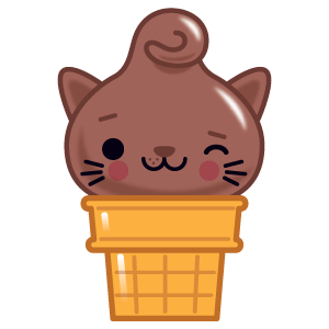 Kitty Cones messages sticker-3