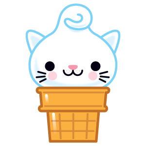 Kitty Cones messages sticker-0
