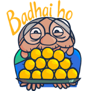 Chumbak Expressions Sticker Pack messages sticker-7