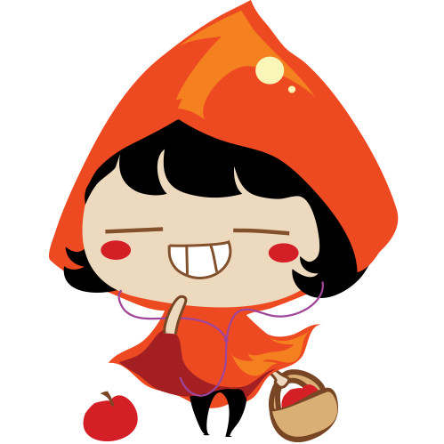 Red Riding Hood Stickers messages sticker-8