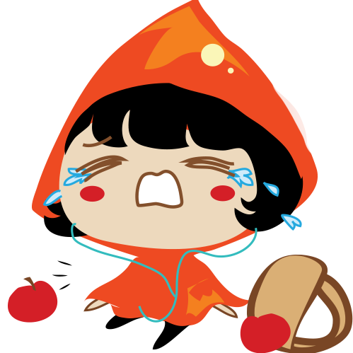 Red Riding Hood Stickers messages sticker-6