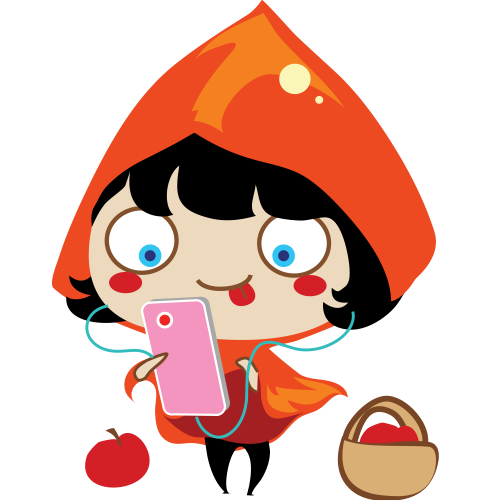 Red Riding Hood Stickers messages sticker-7