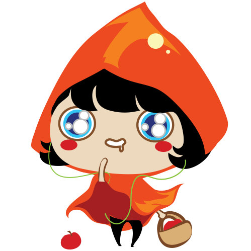 Red Riding Hood Stickers messages sticker-3