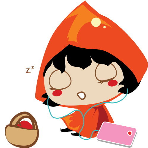 Red Riding Hood Stickers messages sticker-10