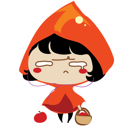 Red Riding Hood Stickers messages sticker-11