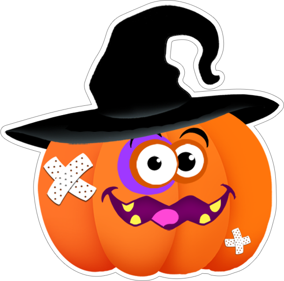 Funny Foods Halloween sticker pack free messages sticker-2