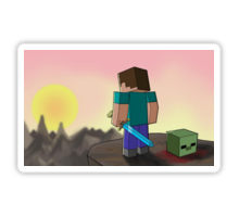 Craft Stickers for Minecraft Fans messages sticker-11