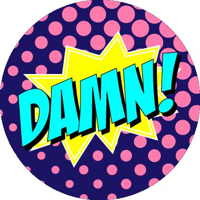 Sassy Superhero Stickers messages sticker-10