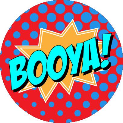 Sassy Superhero Stickers messages sticker-3