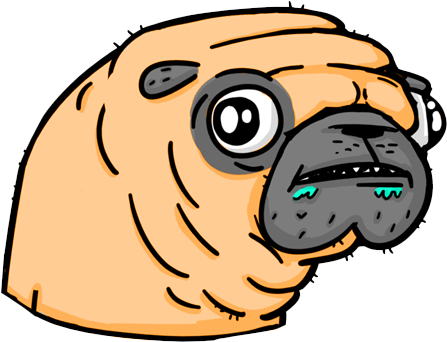 Pugly - Ugly Pugs messages sticker-10