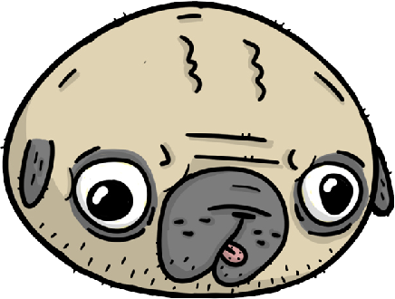 Pugly - Ugly Pugs messages sticker-9