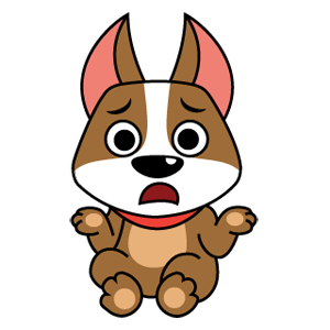 Emoji World: Digg-ity Dog messages sticker-2