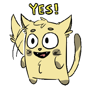 Emoji World: Sammy The Confused Cat messages sticker-8