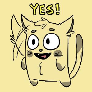 Emoji World: Sammy The Confused Cat messages sticker-8