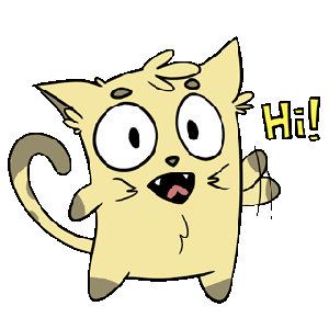 Emoji World: Sammy The Confused Cat messages sticker-10