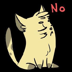 Emoji World: Sammy The Confused Cat messages sticker-9