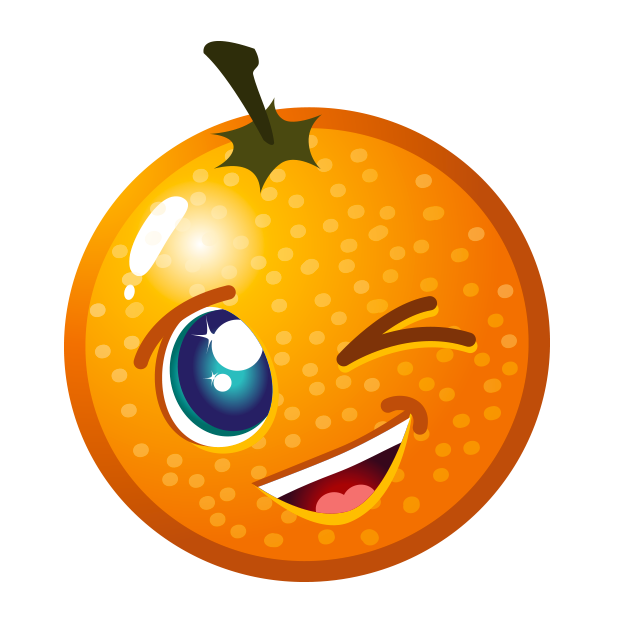 Fruity Blast Stickers : Funny Fruits messages sticker-8