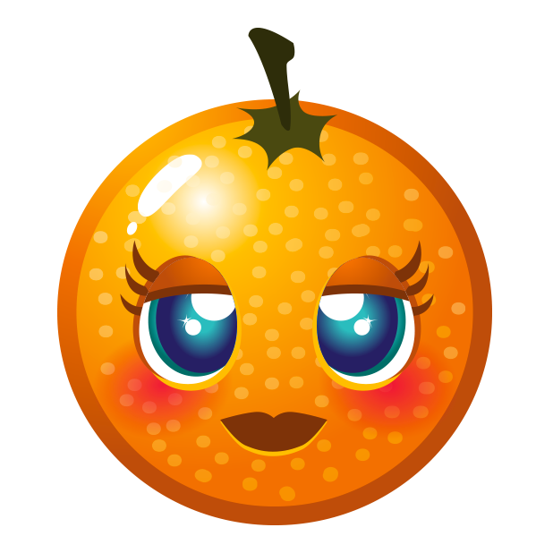 Fruity Blast Stickers : Funny Fruits messages sticker-7