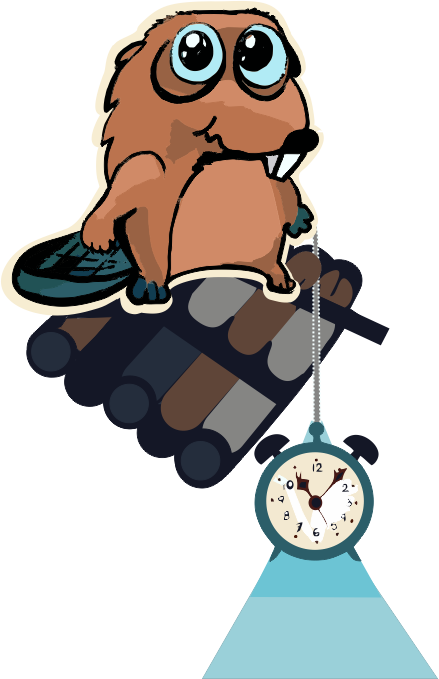 Beaver Time - stickers, emojis, smiles messages sticker-0