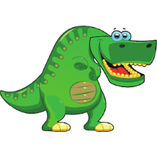 Kid Dino - Sticker Pack messages sticker-4