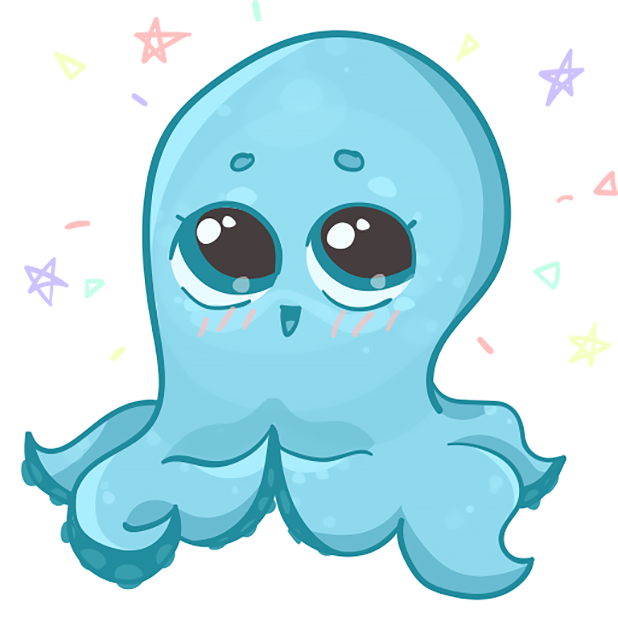 Amazing Octopus messages sticker-2