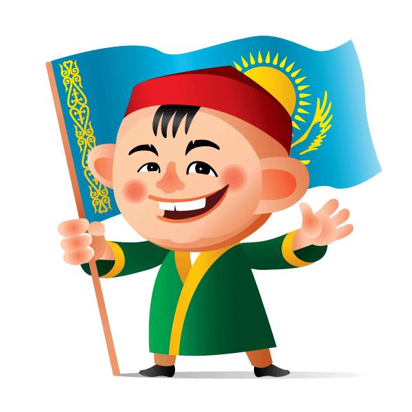 Казахские Эмоджи messages sticker-0