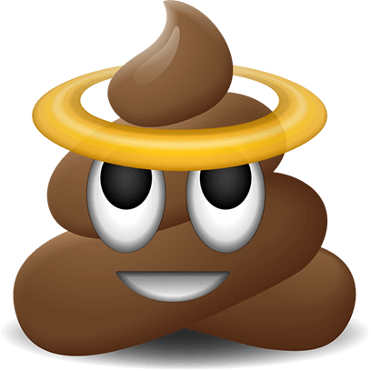 Poop Emoji Stickers messages sticker-1