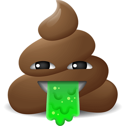 Poop Emoji Stickers messages sticker-4