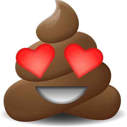 Poop Emoji Stickers messages sticker-5