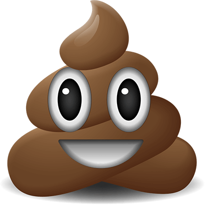 Poop Emoji Stickers messages sticker-0