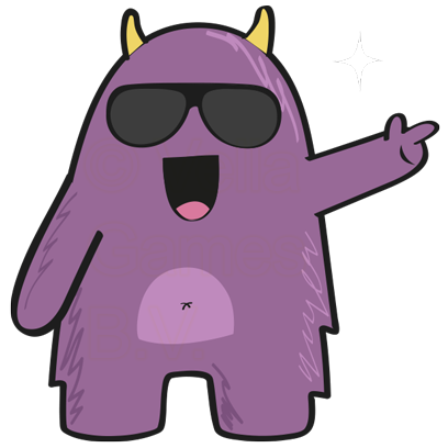 Purple Derp – Monster Stickers messages sticker-7