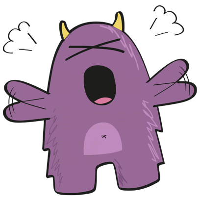 Purple Derp – Monster Stickers messages sticker-2