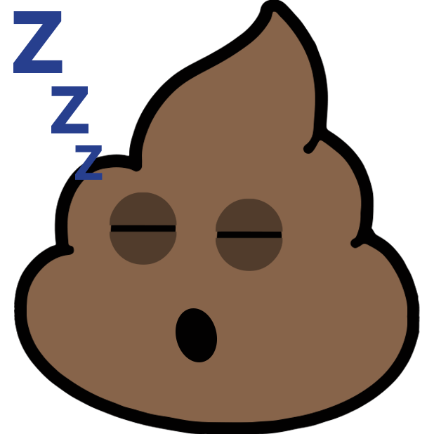 Larry Poo animated messages sticker-10