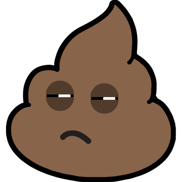 Larry Poo animated messages sticker-2