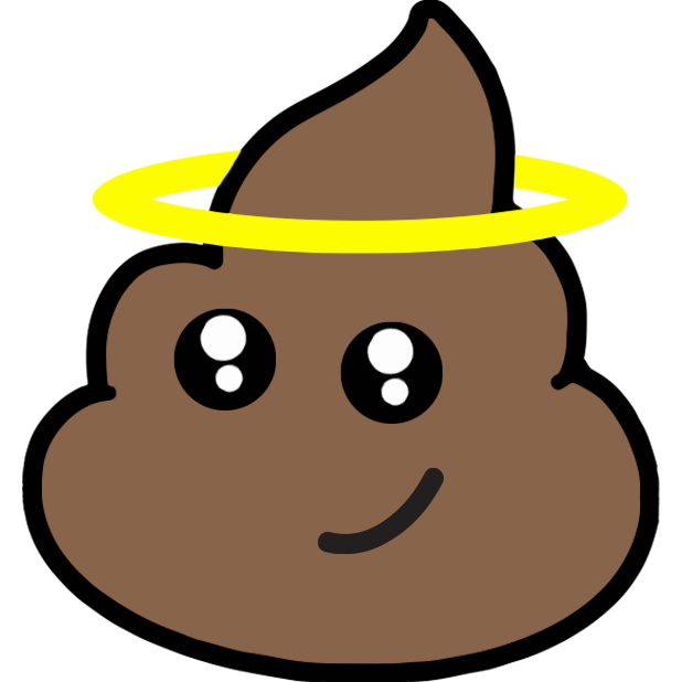 Larry Poo animated messages sticker-4