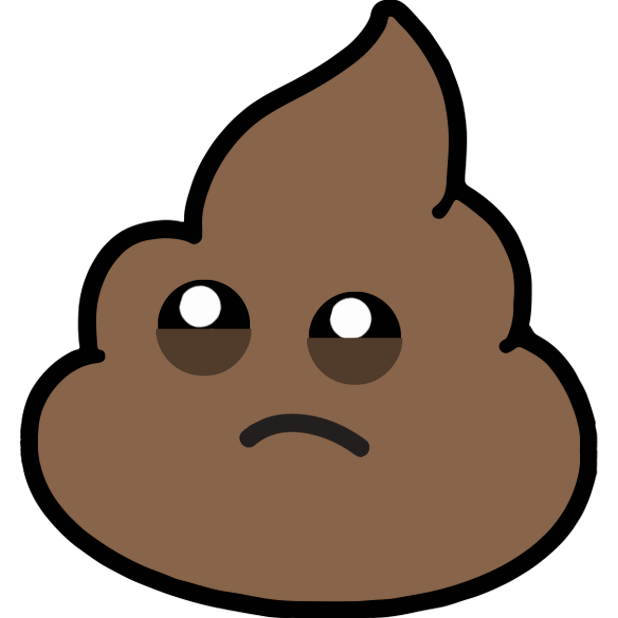 Larry Poo animated messages sticker-11