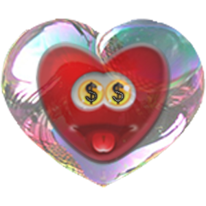 Bubble Hearts messages sticker-10