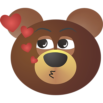 Victor Bear messages sticker-8