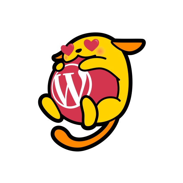 wapuu it messages sticker-7