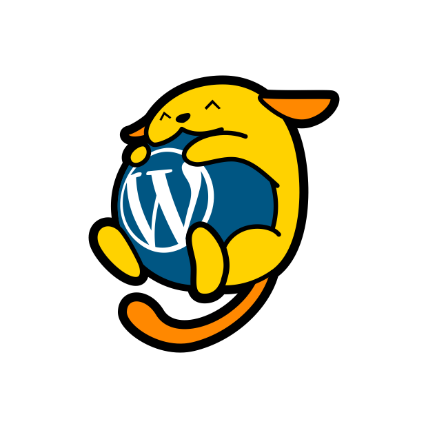 wapuu it messages sticker-3