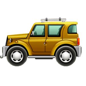 Cartoon Cars messages sticker-2