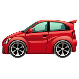 Cartoon Cars messages sticker-3