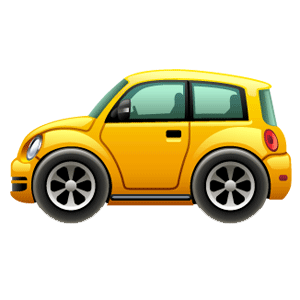 Cartoon Cars messages sticker-1