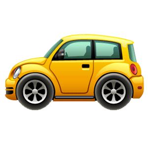 Cartoon Cars messages sticker-1
