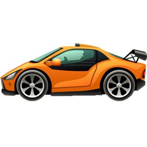 Cartoon Cars messages sticker-8