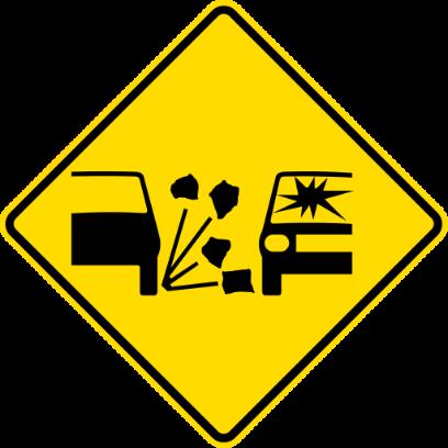 NZ Road Signs messages sticker-6